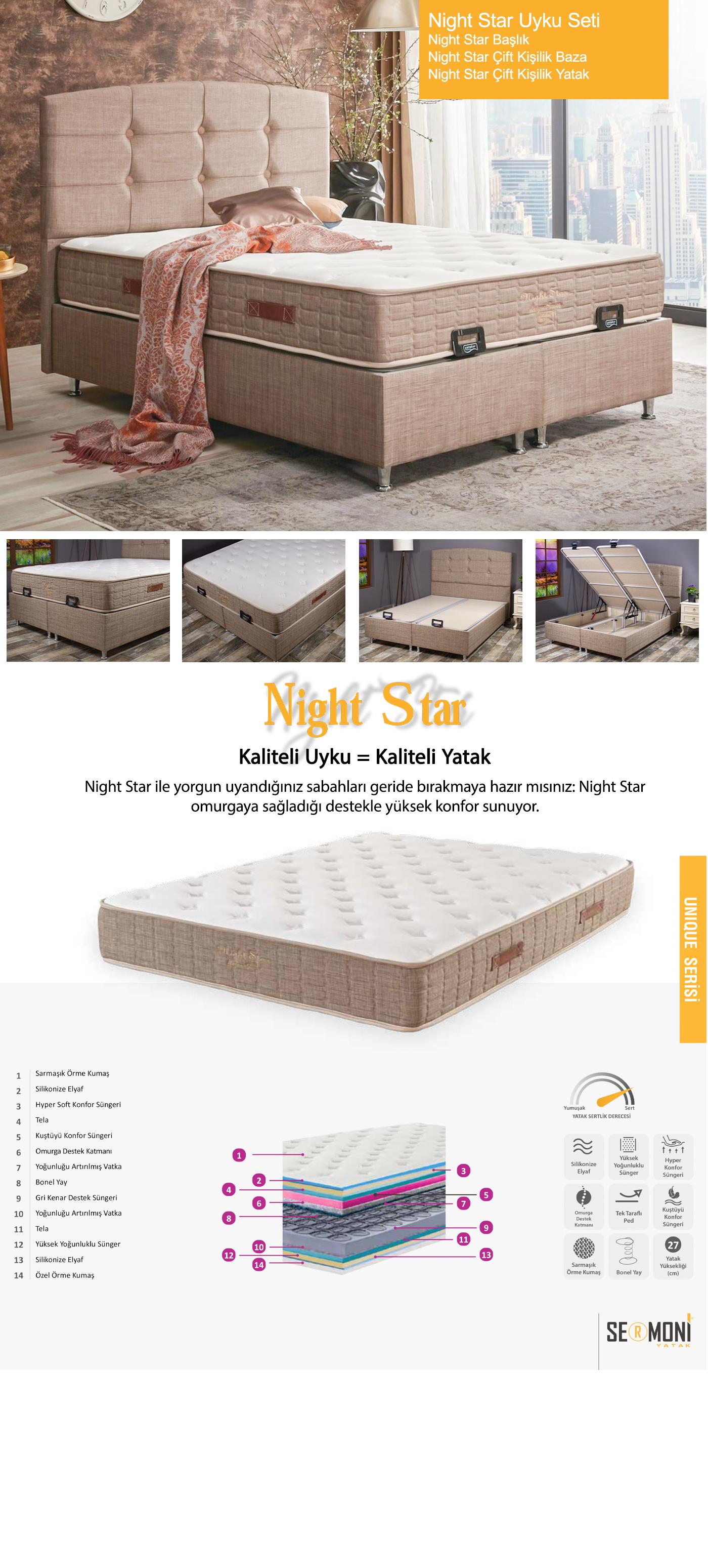 Night Star Yatak