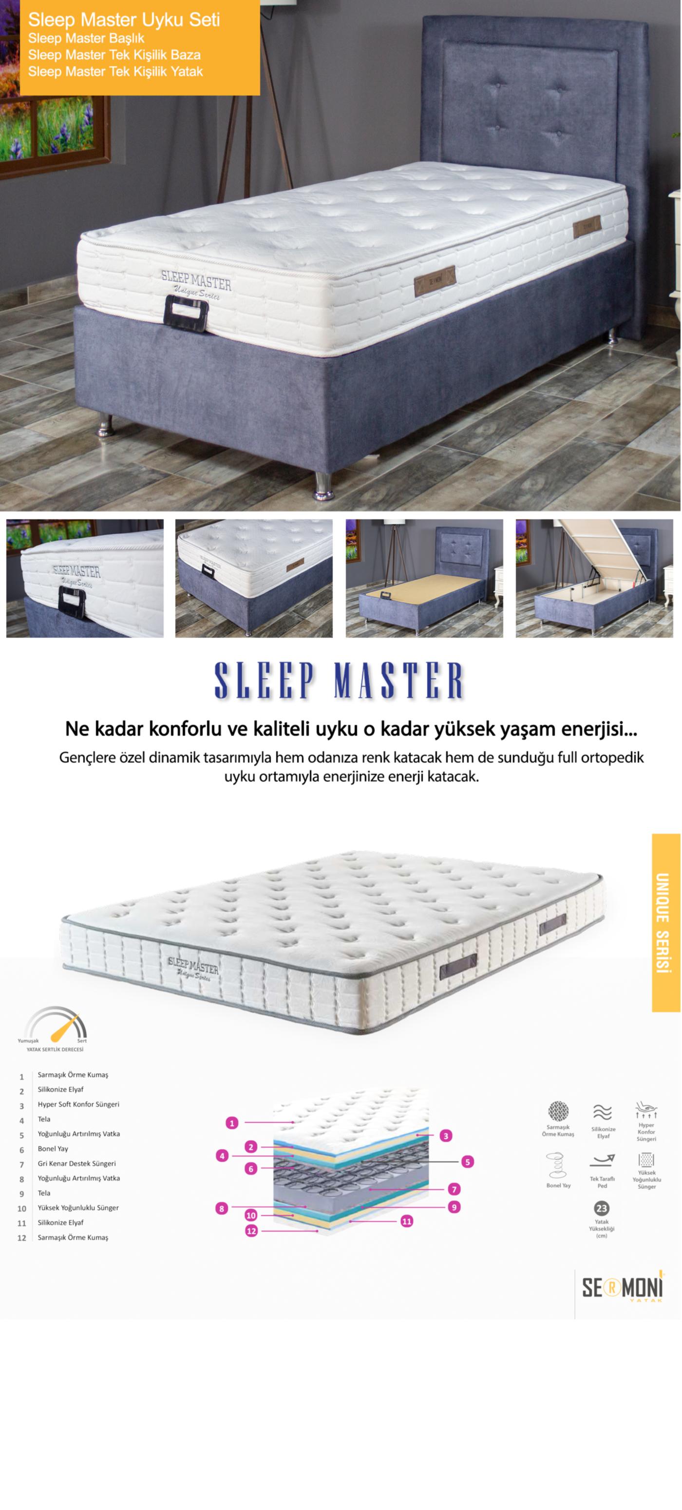Sleep Master Uyku Seti